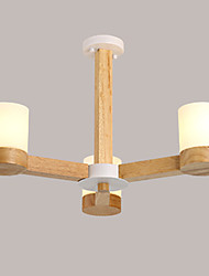 cheap -Vintage Modern/Contemporary Traditional/Classic Country LED Chandelier Uplight For Living Room Bedroom Dining Room Study Room/Office