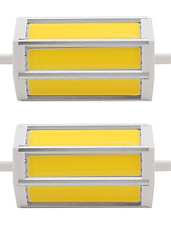 cheap -7W LED Spotlight Tube 3 COB 660 lm Warm White Cold White K AC85-265 V