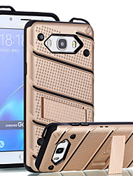 cheap -For Samsung Galaxy J7 J5 Prime Case Cover The with Stand Plastic with TPU Frame for J7 J5 (2016) On7 On5 (2016) J2 Prime