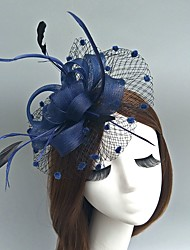 cheap -Fascinators / Hats / Headwear with Floral 1pc Special Occasion Headpiece