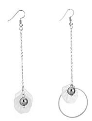 Drop Earrings Women's Girls' Euramerican Personalized Cowry Round  Pearl Drop Earrings  Party And Dailywear Movie Gift Statement Jewelry