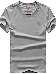economico -Per uomo T-shirt da escursione Esterno Asciugatura rapida Traspirante T-shirt Top Pesca