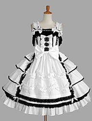 cheap -Sweet Lolita Dress Princess Women's Girls' JSK / Jumper Skirt Cosplay Cap Sleeveless Short / Mini