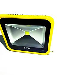 cheap -1pcs 50W Yellow Color LED Flood Light Warm/Cool Floodlight Waterproof IP65 Outdoor Spotlight Garden Lamp Lighting AC85-265V