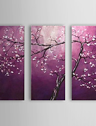 cheap -Hand Painted Modern Abstract Tree Flowers Oil Painting On Canvas Wall Art Picture For Home Decoration Ready To Hang