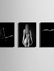 cheap -E-HOME Stretched Canvas Art  The Human Body Photo Decoration Painting One Pcs