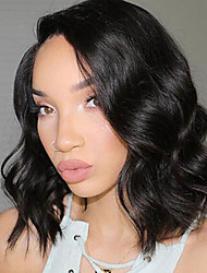 New Style Brazilian Virgin Hair Bob Wigs Loose Wave 150% Density Front Lace Human Hair Wigs Short Virgin Hair Bob Wig for Woman