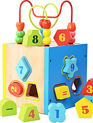 Building Blocks Educational Toy Toys Square Children's Pieces