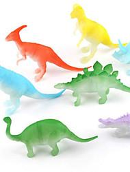 cheap -Dragon & Dinosaur Toy Toy Dinosaur Figures Velociraptor Jurassic Dinosaur Triceratops Tyrannosaurus Rex Plastic Boys' Kid's Gift