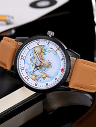 cheap -Women Fashion Wristwatch Unique Creative Casual Cool World Map Ladies Watches Quartz Leather Band Charm Luxury Female Relogio Feminino Watch Jewelry