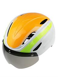 Jezdit na kole Helma Osvědčení Cyklistika Není k dispozici Větrací otvory Nastavitelné Sportovní Unisex Horská cyklistika Silniční