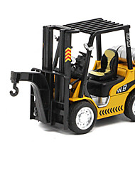cheap -Construction Vehicle Crane Forklift Toy Truck Construction Vehicle Toy Car Die-Cast Vehicles Metal Alloy Unisex Kid's Toy Gift