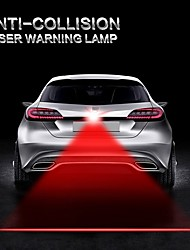 cheap -1Pcs LED Car Warning Laser Fog Lamp Auto Brake Parking Lamp Rearing Lights External Car Styling Red Color Light