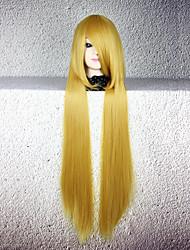 abordables -Pelucas de Cosplay Cosplay Cosplay Animé Pelucas de Cosplay 80cm CM Fibra resistente al calor Hombre Mujer