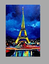 economico -Dipinta a mano Paesaggi Verticale,Modern Stile europeo Un Pannello Tela Hang-Dipinto ad olio For Decorazioni per la casa