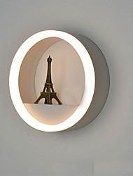 AC 12 DC 12 12 LED integrato Moderno/contemporaneo Galvanizzatto caratteristica for LED,Luce ambient Lampade a candela da pareteLuce a