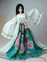 economico -Vestiti Per Bambola Barbie Cappotto Abito Per Ragazza Bambola giocattolo