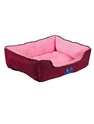 abordables -Perro Camas Mascotas Colchonetas y Cojines Un Color Huella / Paw Templado Suave Naranja Gris Verde Azul Rosa Para mascotas