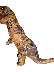 cheap -Dinosaur Cosplay Costume Masquerade Halloween Props Movie Cosplay Brown Red Green Blue Christmas Halloween Carnival Oktoberfest New Year