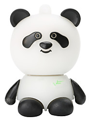 Cartoon Plastic Panda 128GB USB2.0 High-Speed Flash Memory U Disk Memory Stick