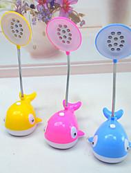 Недорогие -Современный Настольная лампа , Особенность дляс Пластик использование Вкл./выкл. переключатель