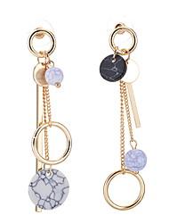 Stud Earrings Drop Earrings Women's Girls' Euramerican Personalized  Alloy Tassel Earrings Party Dailywear Movie Jewelry