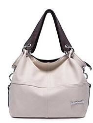 Women Shoulder Bag PU All Seasons Baguette Zipper Ruby Brown Black White