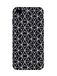 Недорогие -Кейс для Назначение Apple iPhone 7 Plus iPhone 7 С узором Кейс на заднюю панель Полосы / волосы Плитка Геометрический рисунок Мягкий ТПУ