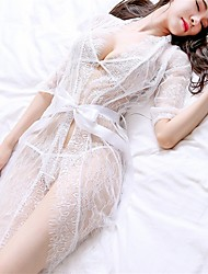 cheap -Women's Sexy Ultra Sexy Lace Lingerie Nightwear Voiles & Sheers