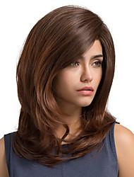 cheap -MAYSU Women Synthetic Wig Long Straight Auburn Natural Wigs Costume Wig