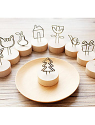cheap -Wedding Party Anniversary Birthday Party/ Evening Engagement Gift Metalic Wood Practical Favors Butterly Theme Holiday Fairytale Theme