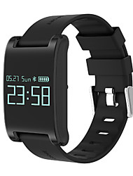 cheap -Smart Bracelet Touch Screen Heart Rate Monitor Water Resistant / Water Proof Calories Burned Pedometers Long Standby Information Message