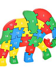economico -Puzzle Kit fai-da-te Costruzioni Giocattoli fai da te Elefante
