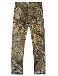 Недорогие -Камуфляжные брюки для охоты Ультрафиолетовая устойчивость камуфляж Брюки для Охота / Восхождение