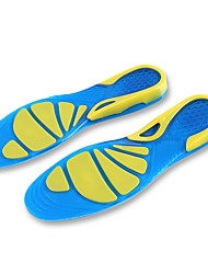 Silicon Waterproof Wearable Breathability Pain Relief Sport Anti-slip Shock Absorption This cuttable Insole provides shockproof function