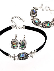 cheap -Women's Jewelry Set Necklace/Bracelet Personalized Unique Design Fashion Euramerican Statement Jewelry Party Special Occasion Anniversary