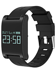 Homme Smart Watch Chinois Numérique Ecran Tactile Télécommande Calendrier Chronographe Moniteur de Fréquence Cardiaque Podomètre Tracker