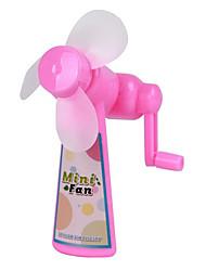 Environmental Protection Manual Portable No Batteries Hand Shake Fan Summer Cool Artifact