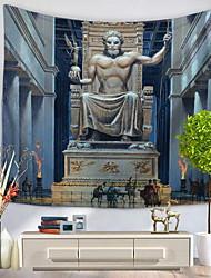 economico -Decorazione della parete 100% poliestere Artistico Con stampa Decorazioni da parete, Arazzi a muro di 1
