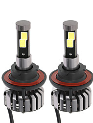 cheap -KKmoon Pair of H13 DC 12V 40W 4000LM 6000K LED Headlight Lamp Kit Light Bulbs