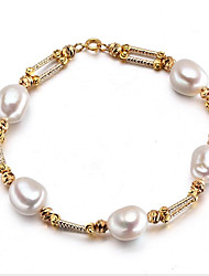 Women's Strand Bracelet Natural Movie Jewelry Fashion Punk Luxury Pearl Irregular Jewelry ForWedding Party Special Occasion Anniversary