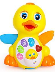 Недорогие -Обучающая игрушка Игрушки Электрический Утка Пластик Куски Для детей Подарок