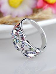 cheap -Women's Ring Jewelry Fashion Euramerican Rhinestone Alloy Jewelry Jewelry For Birthday Event/Party Other