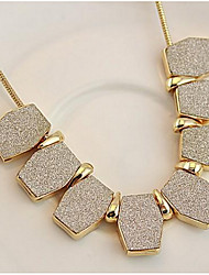 Choker Necklaces Euramerican Geometry Short Chain Clavicle Africa Women's Business OL Gift Jewelry