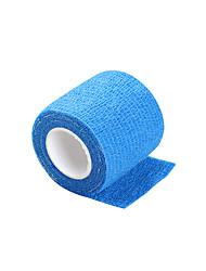 cheap -Disposable Tattoo Grip Non-slip Blue Cover Self-adhesive Elastic Bandage 5*450cm