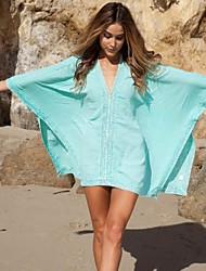 cheap -Ladies' Cover-Up Solid Solid