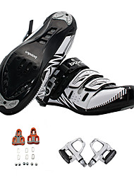 abordables -Chaussures de Cyclisme avec Pédale & Fixation Sports Vêtements de Plein Air Cyclotourisme Cyclisme