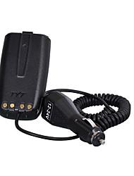 Pour tyt f5 chargeur de voiture éliminateur de batterie walkie talkie radio de jambon radio émetteur-récepteur hf