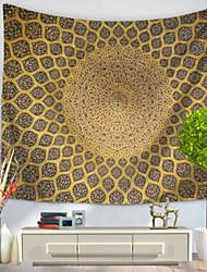 Недорогие -Абстракция Декор стены 100% полиэстер Ретро Предметы искусства, Стена Гобелены Украшение