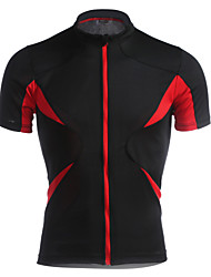Jaggad Muškarci Kratkih rukava Biciklistička majica Bicikl Biciklistička majica, Quick dry, Prozračnost